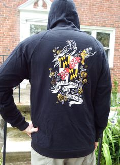 Hey, I found this really awesome Etsy listing at https://www.etsy.com/listing/152441828/maryland-my-maryland-unisex-hoodie-flag