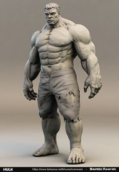 """Personal work, i did in my free time.."" ~ I can draw this good, teach me how to sculpt this good plis......"