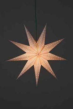 Magical Thinking Star Paper Lantern - Urban Outfitters, $10 or 2 for $15