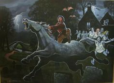 Tam O' Shanter fleeing the Auld Kirk by Craig Campbel
