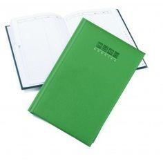 Rubrica telefonica A5 gommata 15x21 verde lime
