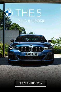 Triff Deine Wahl für eine Zukunft voller Möglichkeiten. THE 5. Der BMW 530e Plug-In Hybrid verbindet das Beste beider Welten. #electrifyou  BMW 530e: 215 kW (292 PS), Kraftstoffverbrauch von 1,6 l/100 km bis 1,3 l/100km, Stromverbrauch von 18,9 kWh/100 km bis 16,3 kWh/100 km, CO2-Emission von 36 g CO2/km bis 31 g CO2/km. Angegebene Verbrauchs- und CO2-Emissionswerte ermittelt nach WLTP. Bmw Z4 Roadster, Bmw X7, Bmw M235i, Bmw 5 Touring, Diesel, Co2 Emission, Limousine, Vintage Designs, High Fashion