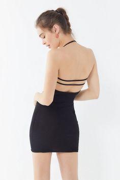 0926525ddeb GIA Minka Mesh Bodycon Mini Dress