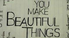 Beautiful Things - Gungor Lyric Video
