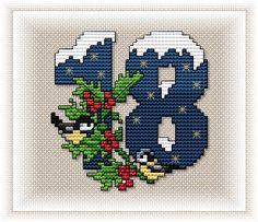 Advent Calendar - Motif 18