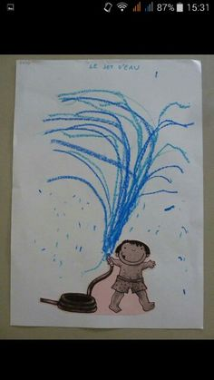 Schrijfdansen water
