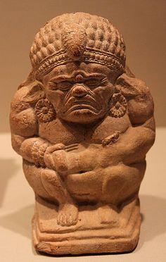 Terracota Yaksha, Sunga period (1st century BC), found in Chandraketugarh (West Bengal) - Metropolitan Museum of Art