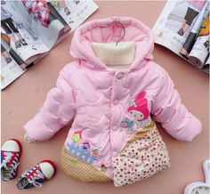 Girl Child Kids Winter Hoodies Melody Coat Jacket Outerwear Size12M-5T #Coat #DressyEverydayHoliday