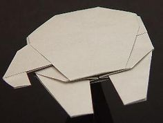 Easy origami Millennium Falcon from Star Wars