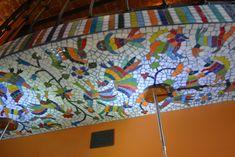 Mural Tenangos Detalle Mural Mosaiquismo