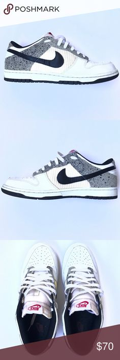 Nike Dunk Jordan Edition- Size 11 Nike Dunk Jordan Edition. White & Cement, Size 11. Pre-owned, still in great condition! With a good cleaning will be like new, Offers Welcome! *All men's shoes belong to my partner Bryant, he is featured in my Meet Your Posher!* Nike Shoes Sneakers