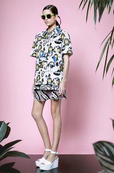 This print-tastic outfit is from the amazing Opening Ceremony Resort 2015 Collection