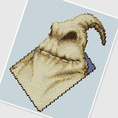 PDF Cross Stitch pattern - 0249.Oogie ( Nightmare before Christmas ). $3.75, via Etsy.