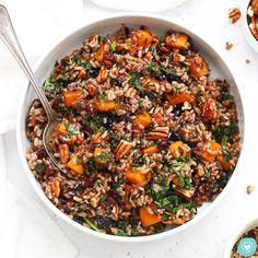 Wild Rice Pilaf (Gluten-Free + Vegan)
