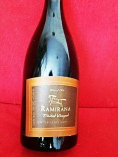 Ramirana Trinidad Vineyard 2012 Maipo Valley Chile Chilean Wine, Trinidad, Vineyard, Champagne, Bottle, Wine, Flask, Jars