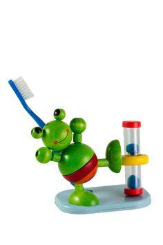 Frog Toothbrush Timer