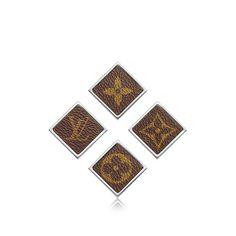 Découvrez l'incontournable Broche carrée Monogram via Louis Vuitton