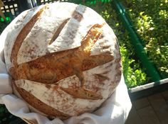 pane semintegrale con lievito madre e siero di latte