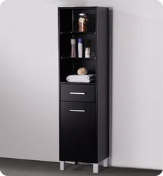 """15.75"""" x 58""""  Bathroom Linen Cabinet"""