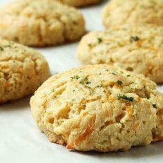 Delicious copycat Cheddar Bay Almond Flour biscuits