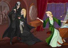 "WTF Lucius Malfoy 2014 - работа ""Живой!"", авт. Kissyushka"