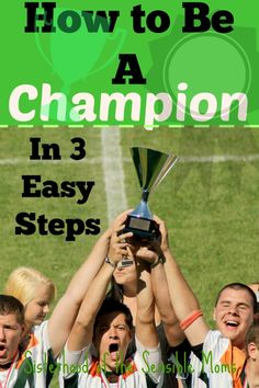 Looking to do some social good with your social media? Need to make a difference? Want to advocate for others? Parent for greater good? How to be a Champion in 3 easy steps | Sisterhood of the Sensible Moms