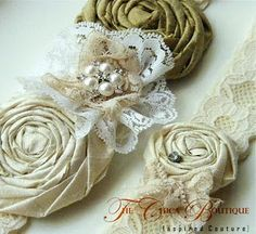 Do this with our rolled silk rosettes!http://fleuristesupplies.bigcartel.com/product/rolled-rosettes-silk-medium