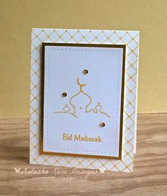 I dream in color: More Eid cards