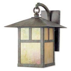 Montclair Mission 1 Light Outdoor Wall Lantern
