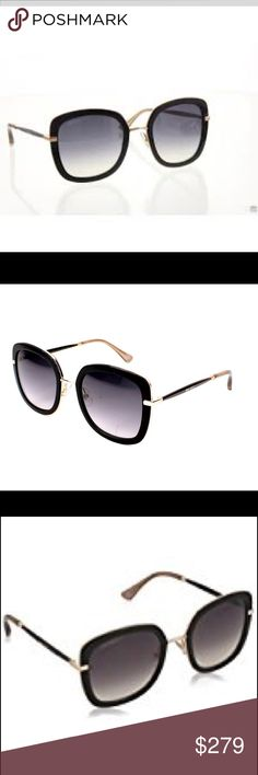 713686aa45f Jimmy Choo Glenn Model  Jimmy Choo Glenn Sunglasses Frame Color  Black Lens  Color