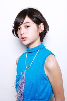 おしゃれ黒髪ショートヘアカタログまとめ|MERY [メリー]