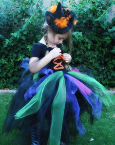 Witch Tutu Dress by KadydidDesigns on Etsy, $32.50 Witch Tutu, Witch Costumes, Monster Mash, Hallows Eve, Seasonal Decor, Seasons, Decorating, Halloween, Trending Outfits