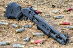 Save those thumbs Remington 870 Tactical, Tactical Shotgun, Mossberg Shotgun, Tactical Gear, Mossberg 500 Tactical, Weapons Guns, Guns And Ammo, Combat Shotgun, Gun Vault