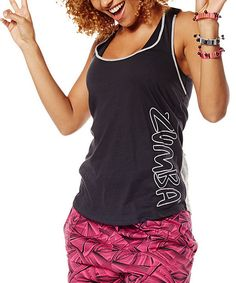 Look at this Back to Black Tankful For Two-Tone - Women on #zulily today!