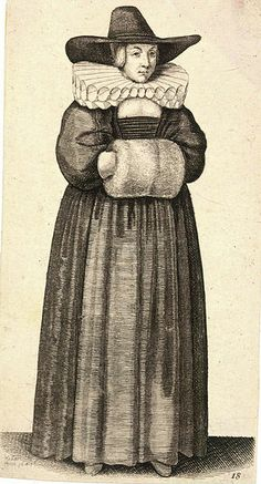 File:Wenceslas Hollar - Lady with ruff and muff (State 2).jpg
