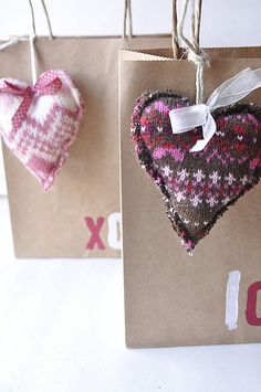Sweater sweet hearts. Love it!