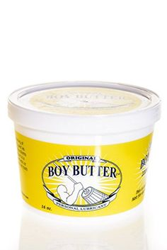 #tco #drjart Boy #Butter Original is an oil-based lubricant consisting of two powerful yet gentle ingredients: a coconut oil and an organic silicone blend. The i...