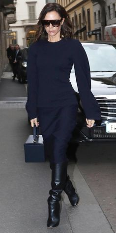 Victoria Beckham's Most Stylish Looks Ever - February 27, 2017 from InStyle.com