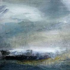 Seaspray, Acrylic on Paper by Jill Campbell