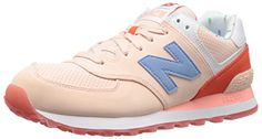 New Balance WL574 W Schuhe 5,0 orange - http://on-line-kaufen.de/new-balance/35-eu-new-balance-wl574-bwb-b-sneaker-damen