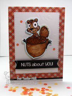 Image result for YNS Acorn fall fun stamp image