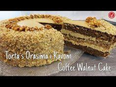 YouTube Sweet Recipes, Cake Recipes, Dessert Recipes, Desserts, Coffee And Walnut Cake, Coffee Cake, Torte Recipe, Air Fryer Recipes Easy, Croatian Recipes