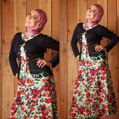 Casual outfits by Rody's hijab fashion | Just Trendy Girls
