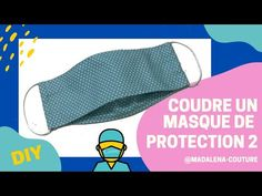 Sew a mask of protection with open - tuto couture madalena Sewing Blogs, Sewing Hacks, Sewing Tutorials, Chanel Couture, Couture Fashion, Chanel Little Black Dress, Fat Quarter Projects, Protective Mask, Couture Sewing