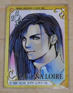 Final Fantasy 8 Zell   Final Fantasy 8 VIII Triple Triad Cards Kiros Laguna Rinoa Zell RARE ...