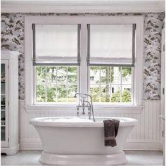 Small&LowCost. Cortinas en la ventana del baño
