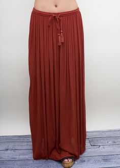 Rusty Flow Skirt