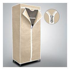 Armario guardarropa de tela mws (beige) - http://vivahogar.net/oferta/armario-guardarropa-de-tela-mws-beige-2/ -