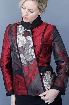 Mary Lynn O'Shea: Designer   Weaver   Warren Light Weight Jacket