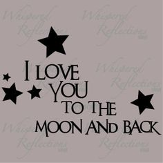 BEYOND the Moon and Back!! <3 @Ben Reeves